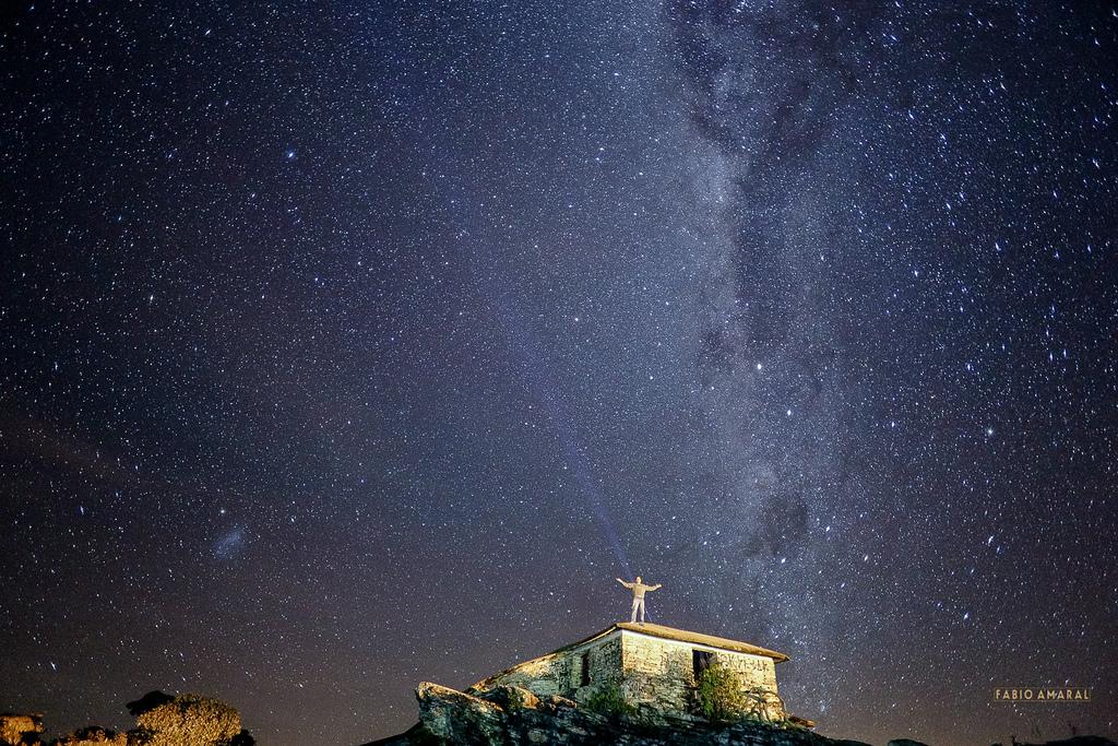 Céu Noturno visto da Pirâmide em São Thomé das Letras