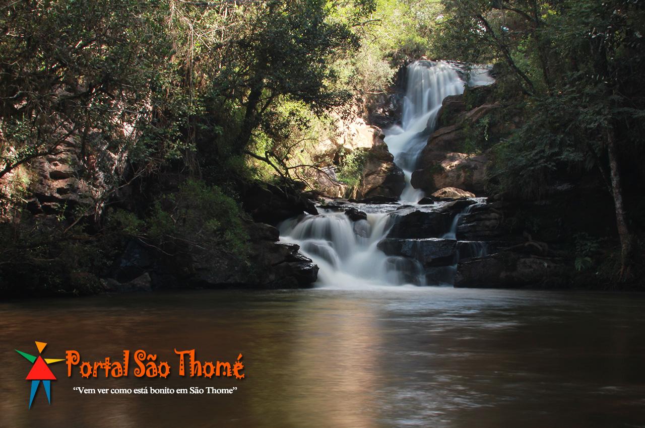 Cachoeira Véu de Noiva em São Thomé das Letras MG