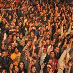 Público Curtindo o Show na Festa de Agosto em São Thomé das Letras