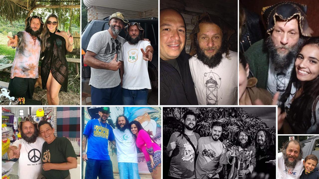 Fans do Ventania em São Thomé das Letras com Turistas