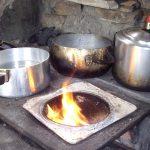 Camping com Fogão à Lenha