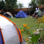 Ampla Área de Camping