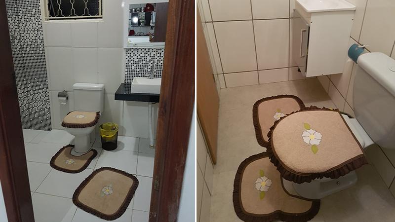 Banheiro da kitnet