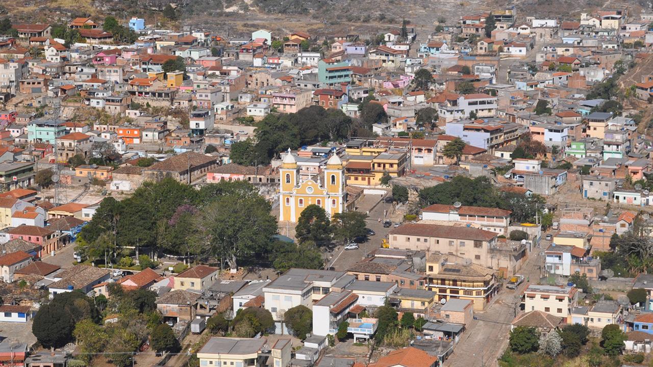 Centro Histórico e Igreja Matriz São Thomé das Letras