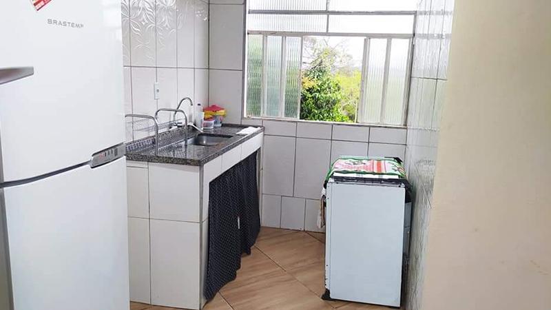 Cozinha simples com utensílios básico