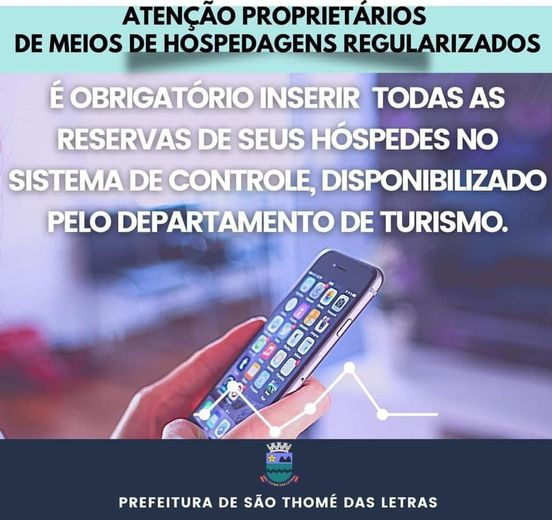 Fiscalização COVID-19 em São Thomé das Letras