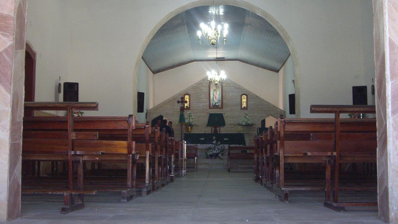 Interior da Igreja Nossa Senhora do Rosário